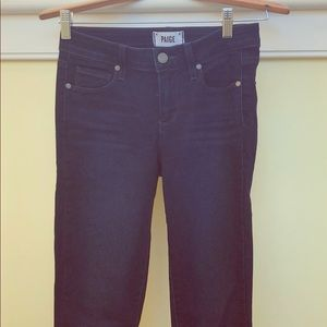 Paige Verdugo ankle stretch jeans